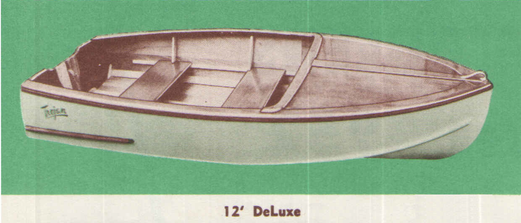 1952 sea queen deluxe 12 foot