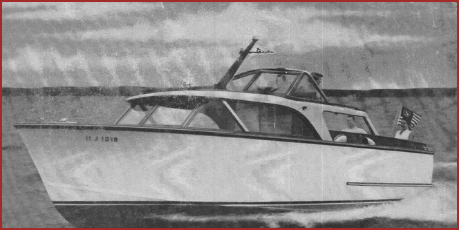 1956 sea breeze 27 foot.