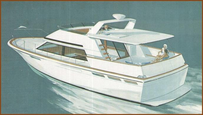 1978 motor yacht drawing