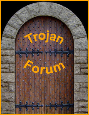 Click on the door to enter the forum.